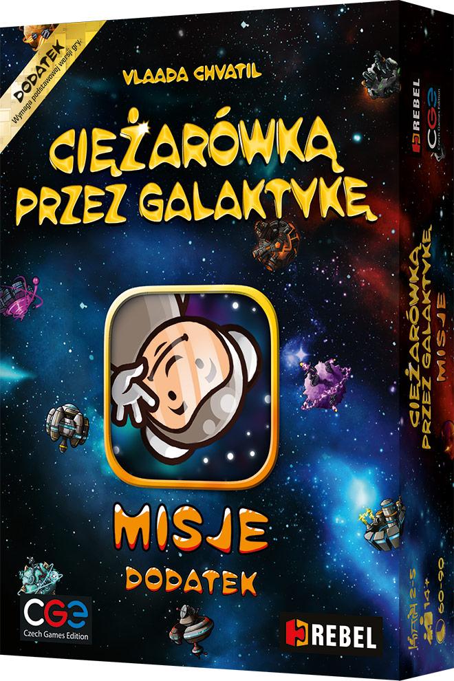 Ciężarówką przez galaktykę: Misje
