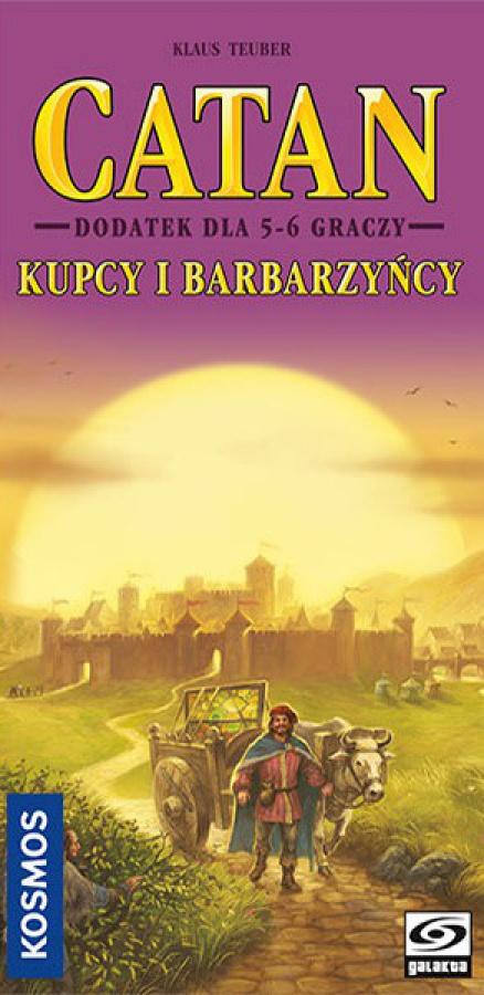 Catan - Kupcy i Barbarzyńcy, dodatek dla 5-6 graczy