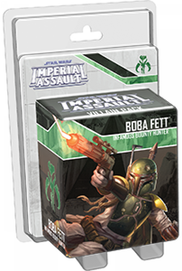 Star Wars: Imperial Assault - Boba Fett Infamous Bounty Hunter