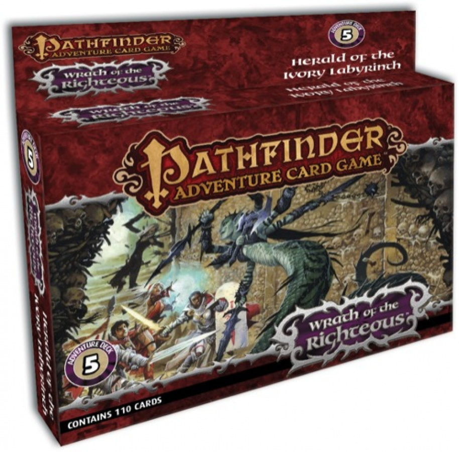 Pathfinder Adventure Card Game: Wrath of Righteous - Herald of the Ivory Labyrinth Adventure Deck