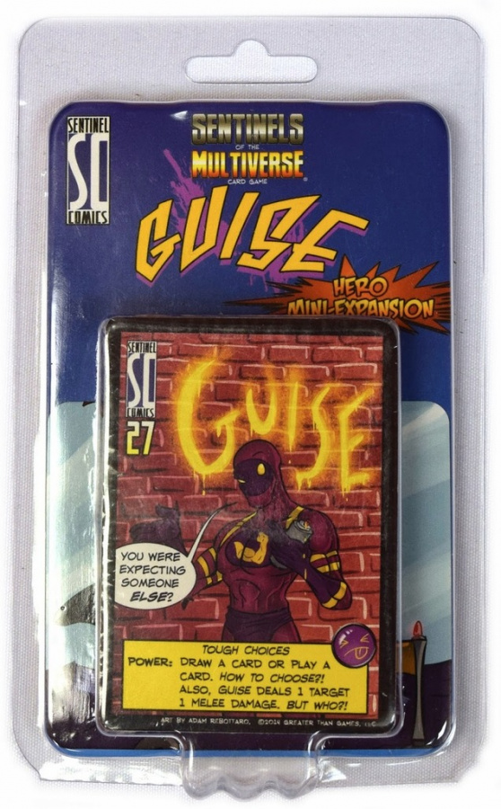 Sentinels of the Multiverse: Guise Hero Mini-Expansion
