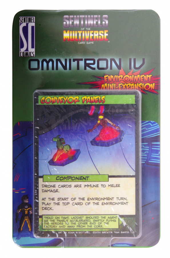 Sentinels of the Multiverse: Omnitron IV Environment Mini-Expansion