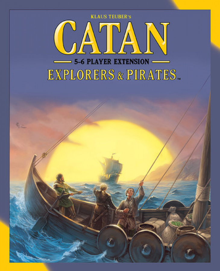 Catan: Explorers & Pirates 5-6 Player Expansion (nowa edycja)