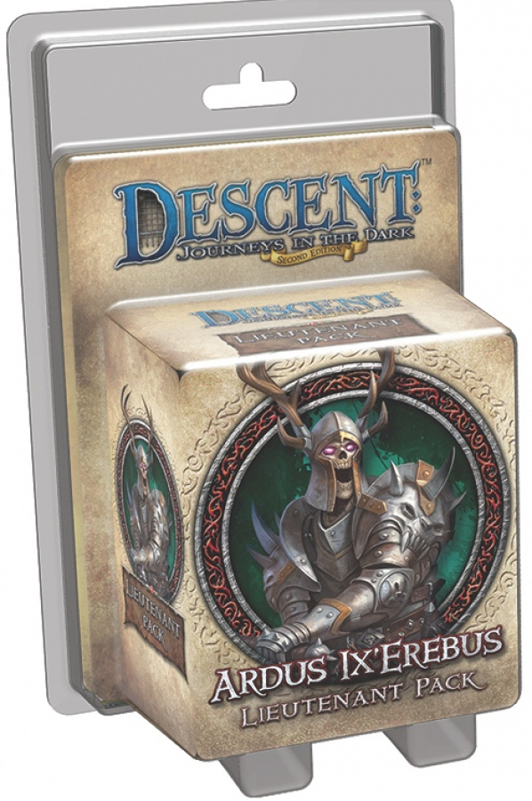 Descent: Journeys in the Dark - Ardus Ix'Erebus Lieutenant Pack