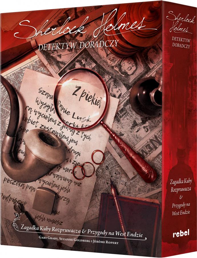 """Sherlock Holmes: Detektyw doradczy - """"Zagadka Kuby Rozpruwacza"""" i """"Przygody na West Endzie"""""""