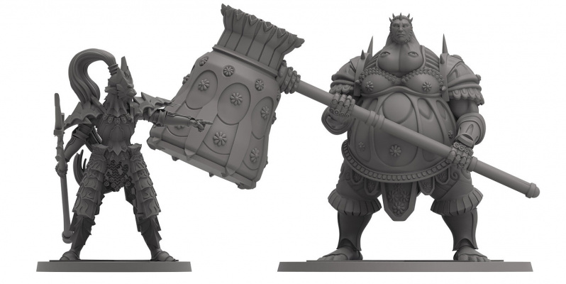 Dragon Slayer Ornstein oraz Executioner Smough