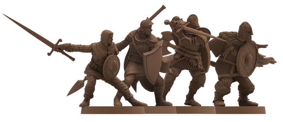 Postaci graczy - Assassin, Herald, Knight i Warrior