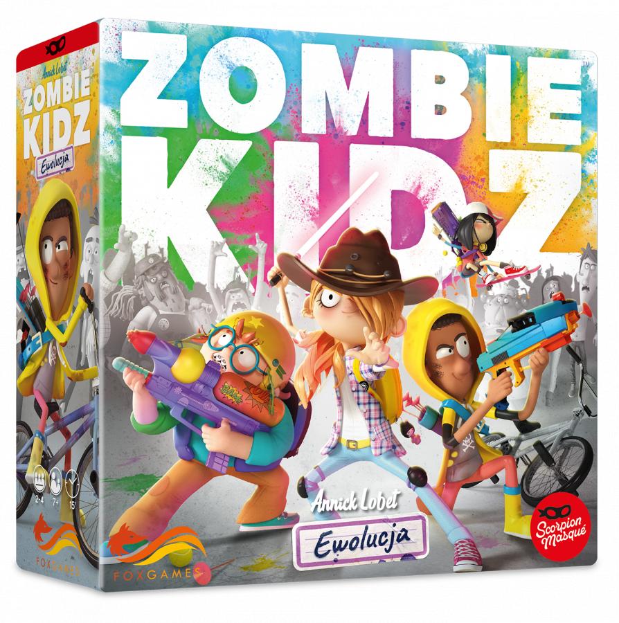 Zombie Kidz: Ewolucja