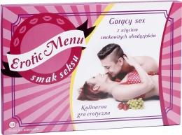 Erotic Menu