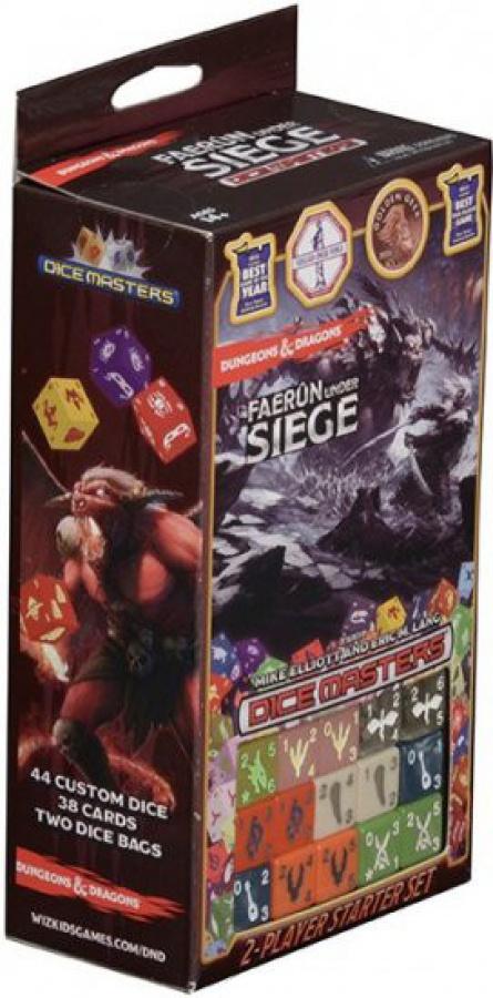 D&D Dice Masters: Faerun Under Siege 2-player Starter Set