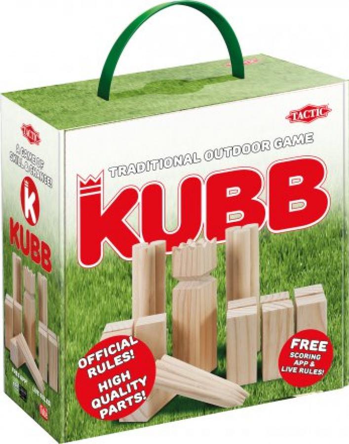Kubb w kartonowym pudełku