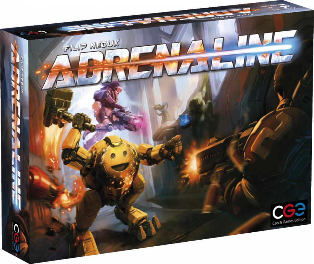 Adrenaline (edycja angielska)