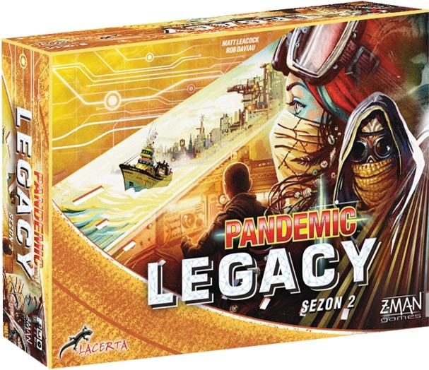 Pandemic (Pandemia) Legacy: Sezon 2 (edycja żółta)