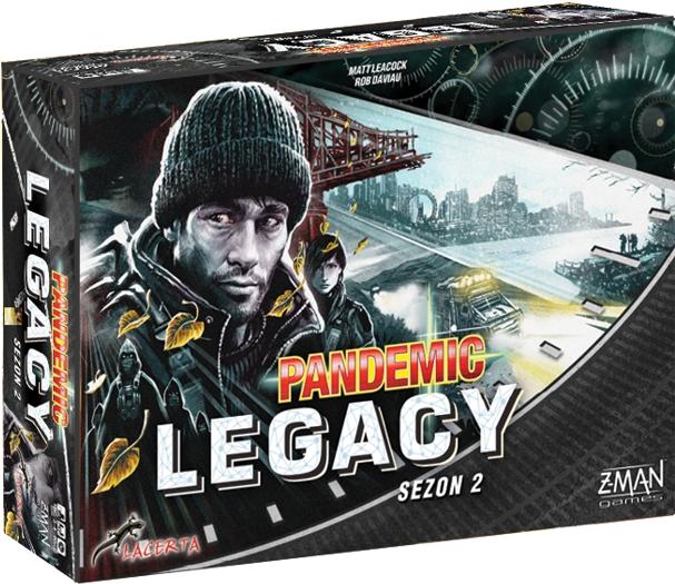 Pandemic (Pandemia) Legacy: Sezon 2 (edycja czarna)