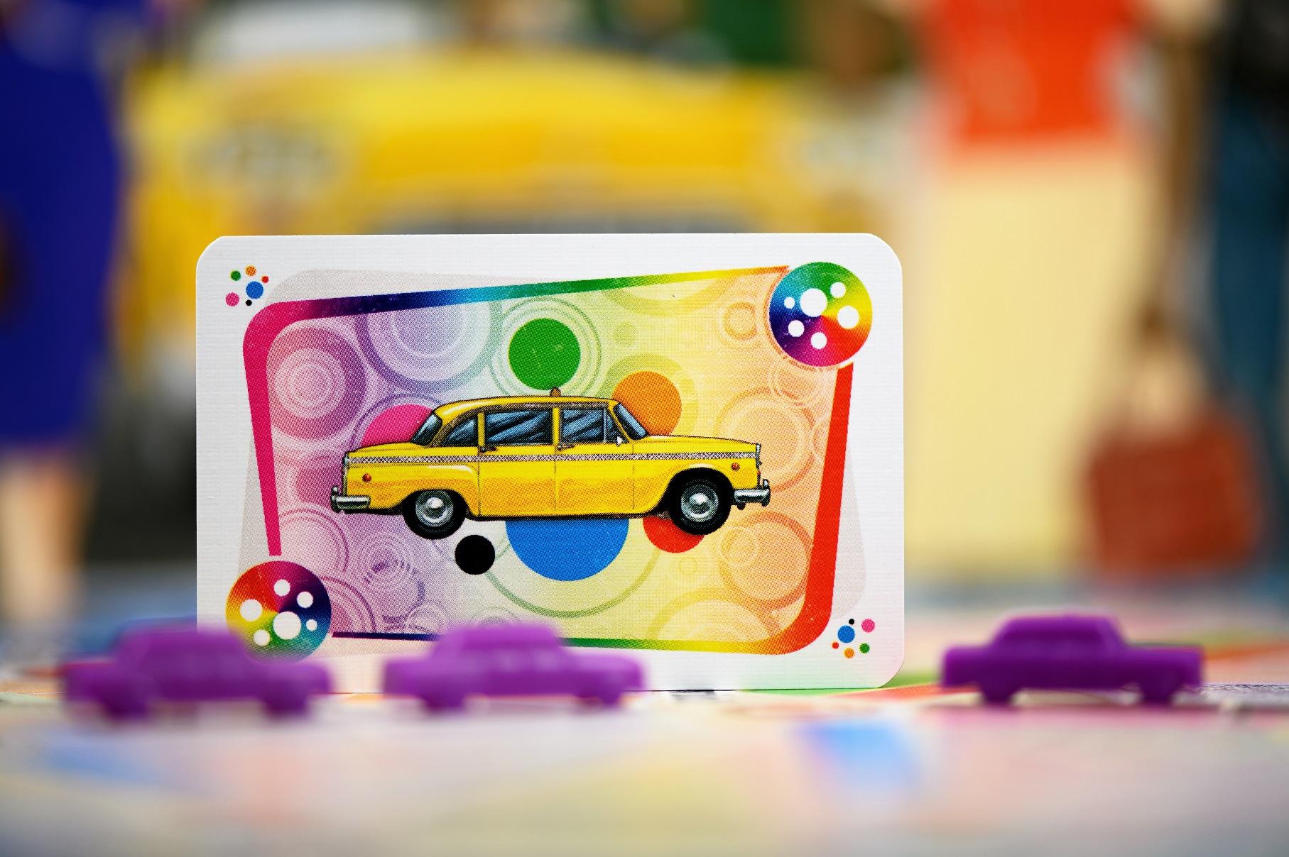 W tej wersji gry poruszamy się charakterystycznymi, żółtymi taksówkami.