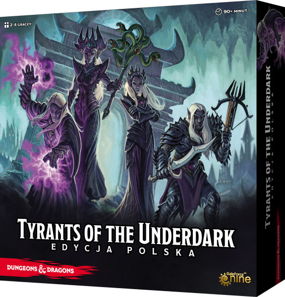 Dungeons & Dragons: Tyrants of the Underdark (edycja polska)