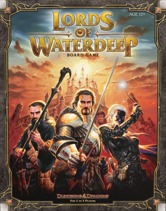 D&D: Lords of Waterdeep Board Game