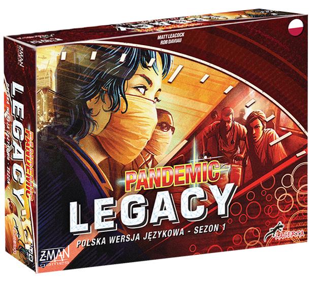 Pandemic (Pandemia) Legacy: Sezon 1 (edycja czerwona)