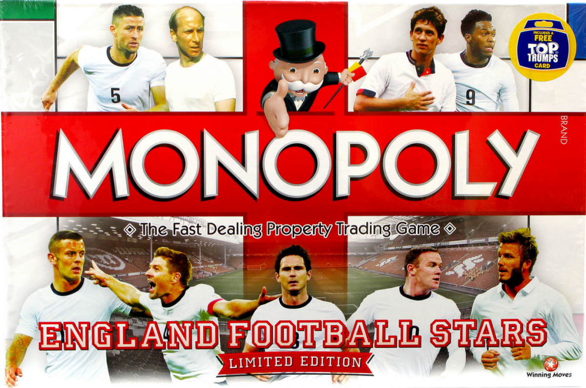 Monopoly: England Football Stars