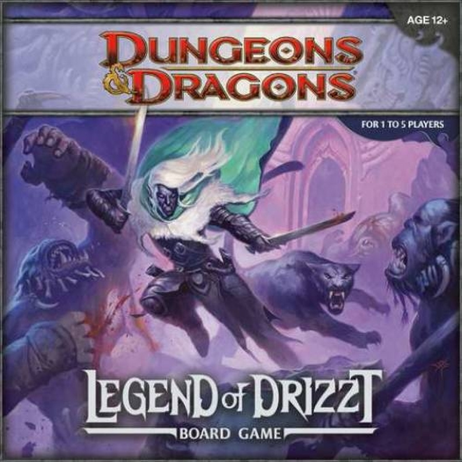 D&D: Legend of Drizzt Board Game