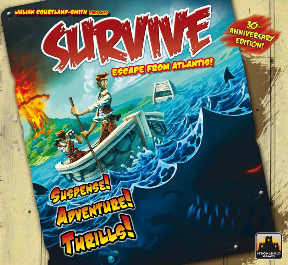 Survive: Escape from Atlantis! 30th Anniversary Edition