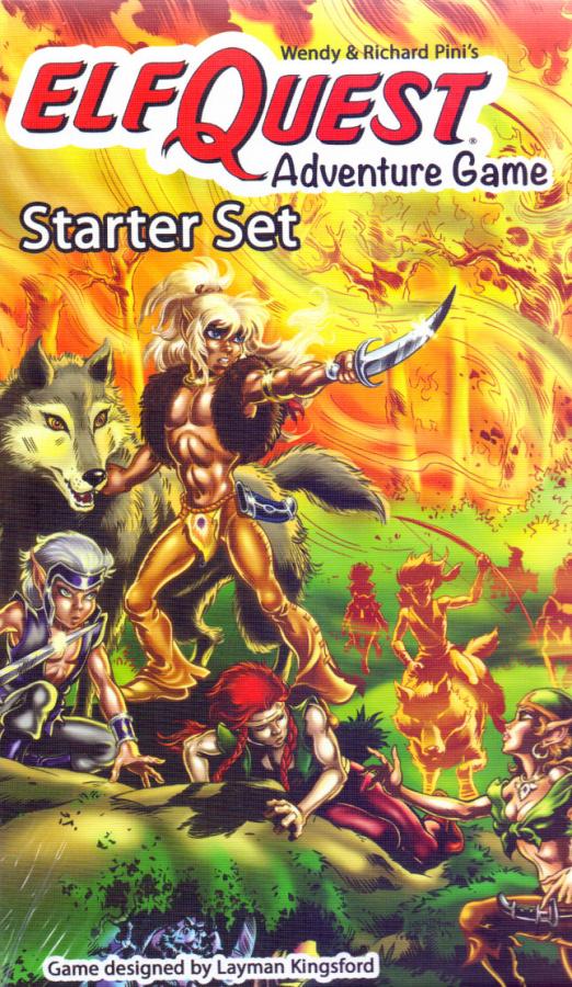 ElfQuest Adventure Game Starter Set
