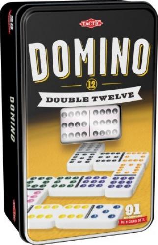 Domino Double Twelve (dwunastkowe w puszce)