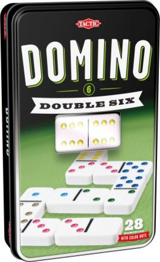 Domino Double Six (szóstkowe w puszce)