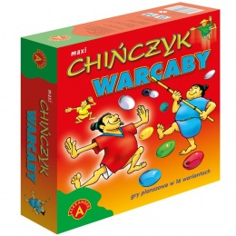 Chińczyk Warcaby (maxi)