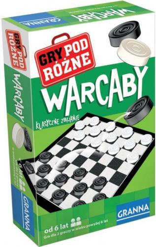 Warcaby - gra podróżna