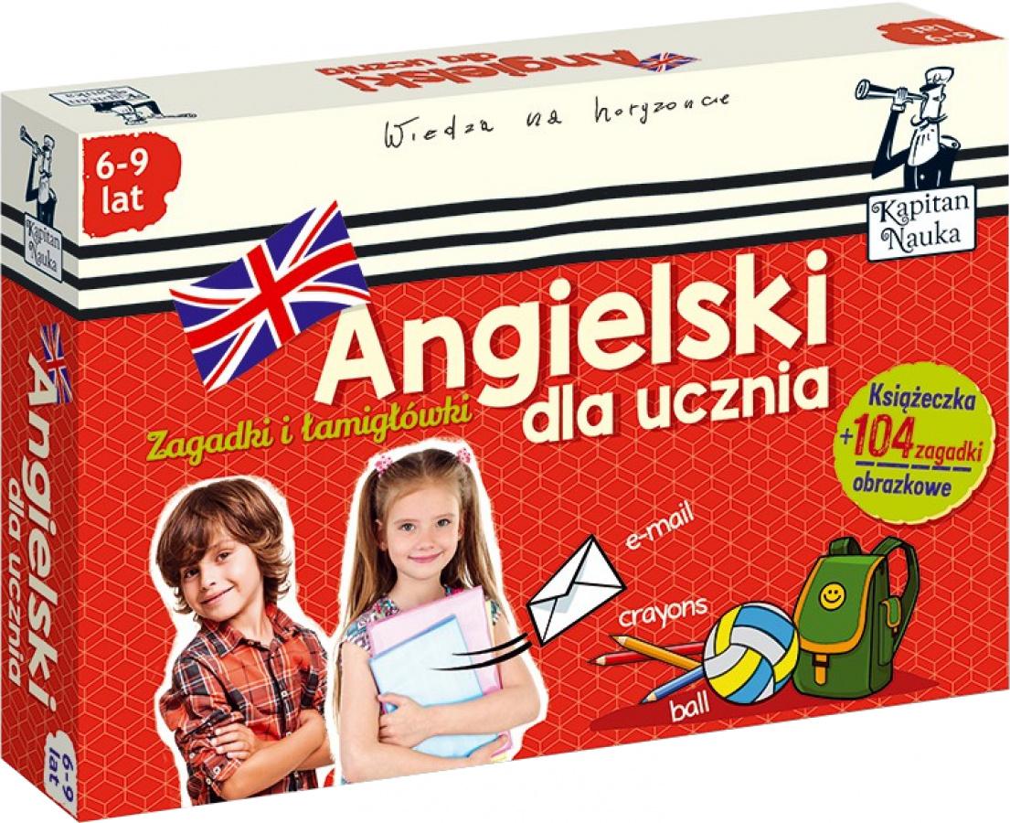 Kapitan Nauka - Angielski Dla Ucznia (6-9 lat)