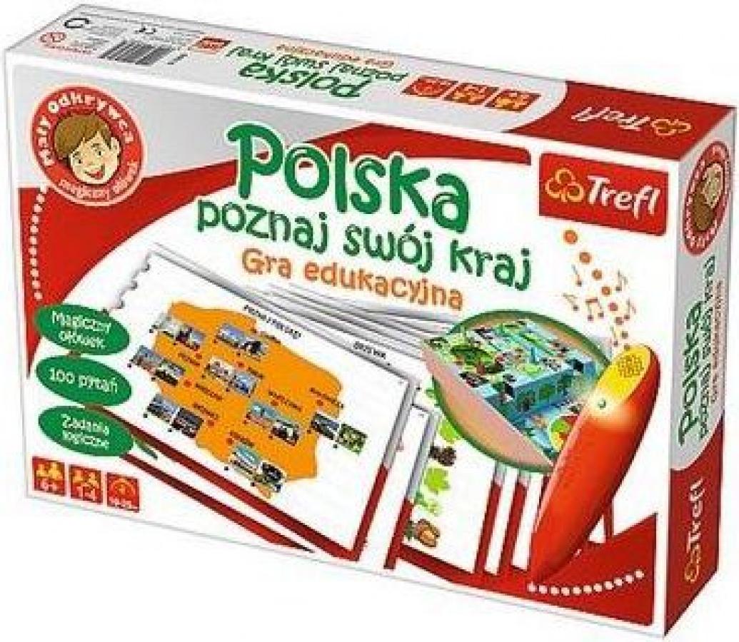 Mały Odkrywca: Magiczny ołówek - Polska - Poznaj swój kraj