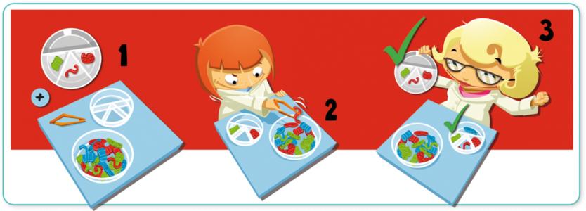 Odkryj kartę badań, użyj pęsety, by wydobyć konkretne mikroby i stwórz antidotum szybciej od innych!