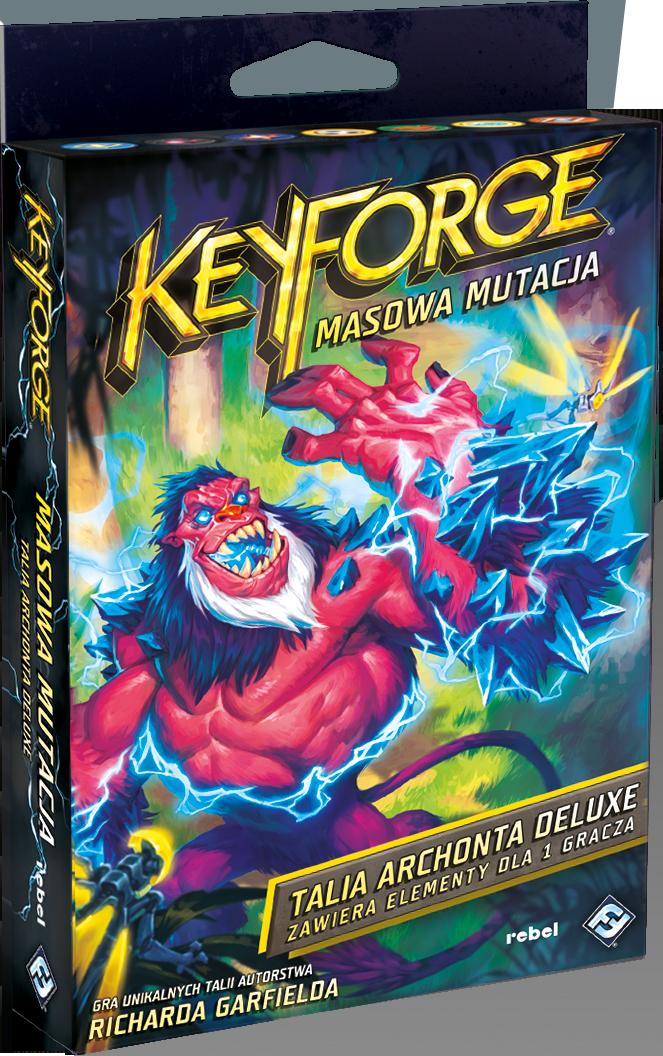 KeyForge: Masowa mutacja - Talia deluxe