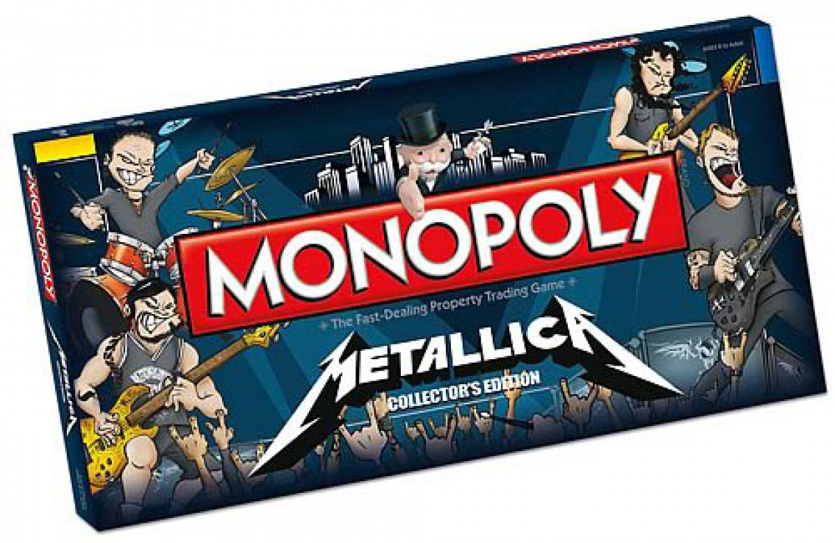 Monopoly: Metallica Collector's Edition