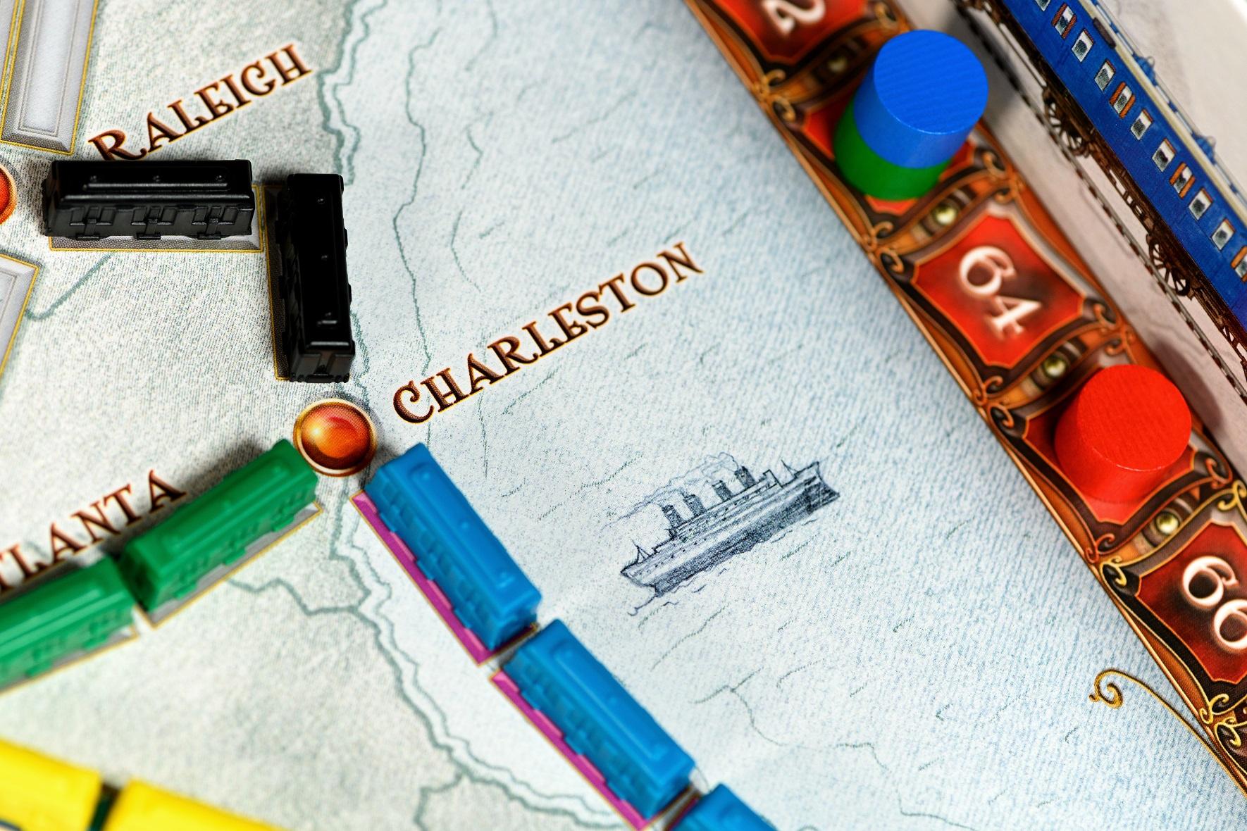 Stwórz połączenia kolejowe między największymi miastami USA!