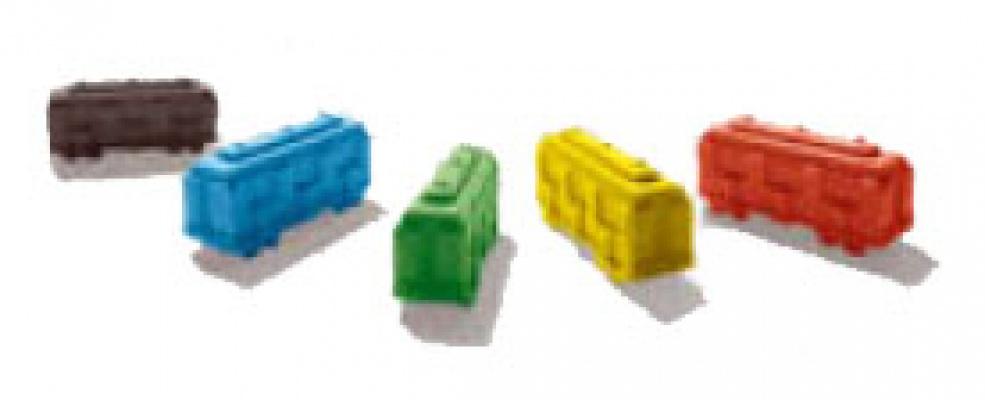 Pionki używane w grze.