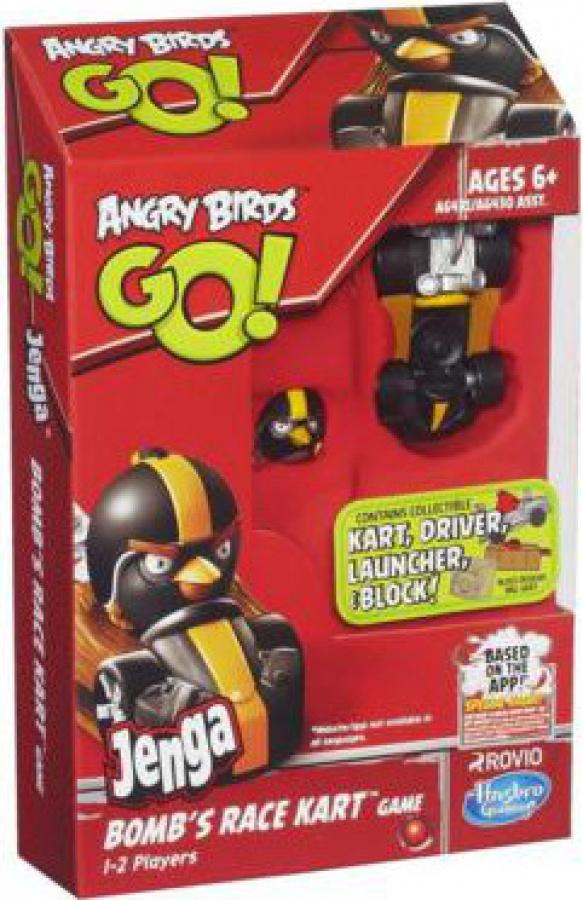 Angry Birds Go Jenga - Bomb's Race Kart