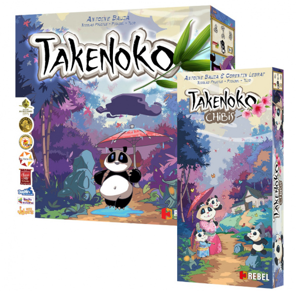 Takenoko + Chibis