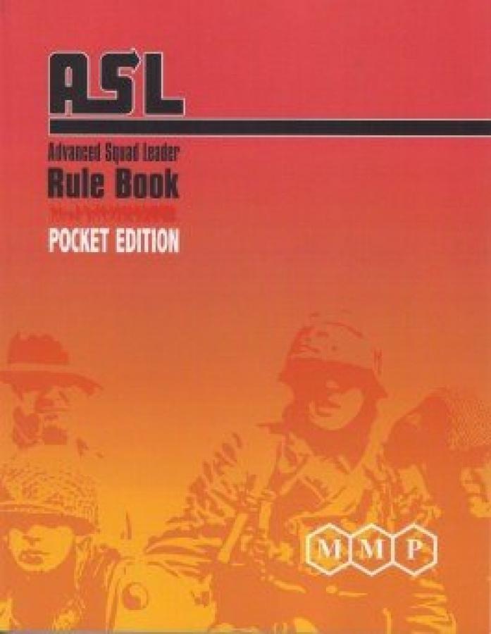ASL Advanced Squad Leader: Rule Book - Pocket Edition