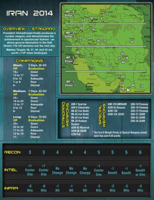Mapa obszaru walki