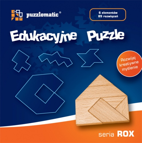Edukacyjne Puzzle - seria Rox