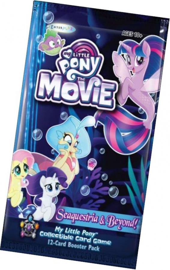 My Little Pony CCG: Seaquestria & Beyond! booster pack