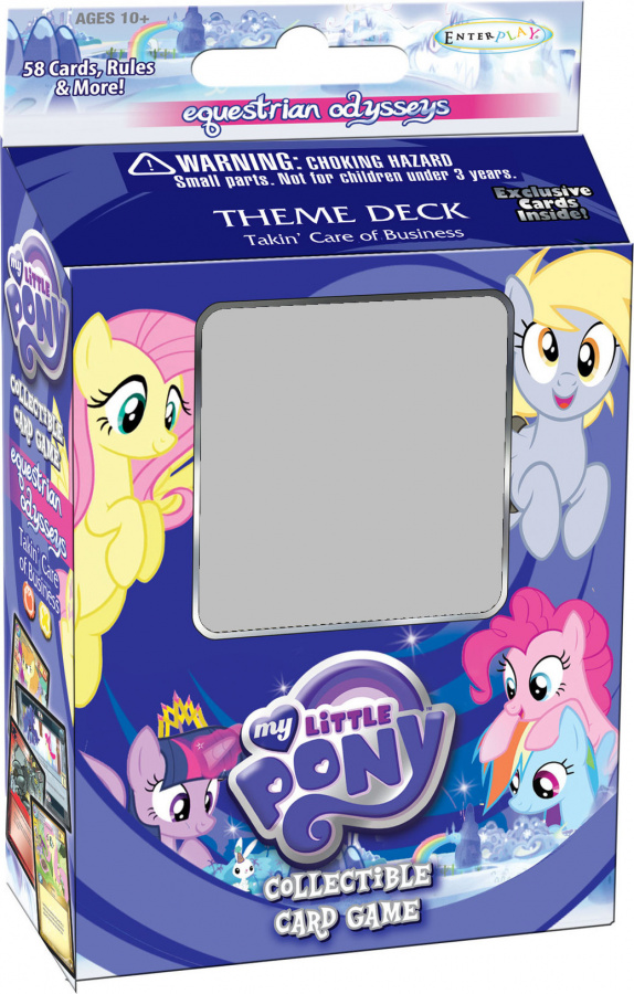 My Little Pony CCG: Takin' Care of Business Theme Deck