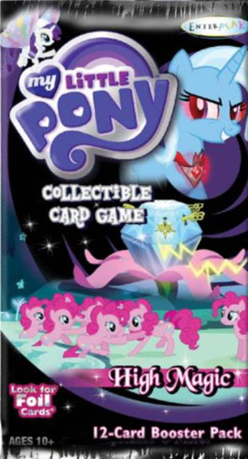 My Little Pony CCG: 12-card booster pack High Magic