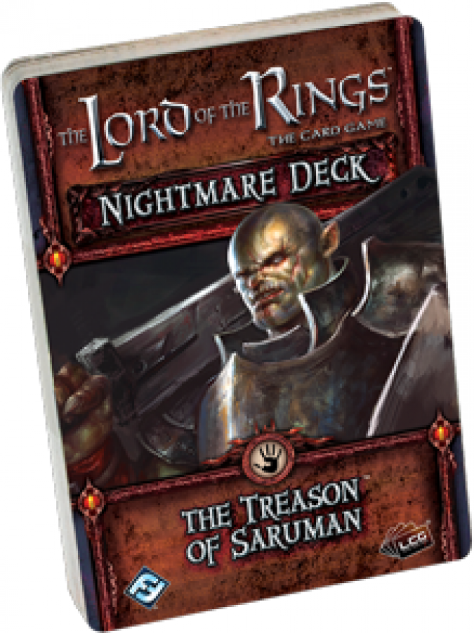 Lord of the Rings LCG: The Treason of Saruman Nightmare Decks