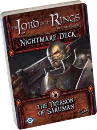 Lord of the Rings LCG: The Treason of Saruman Nightmare Decks