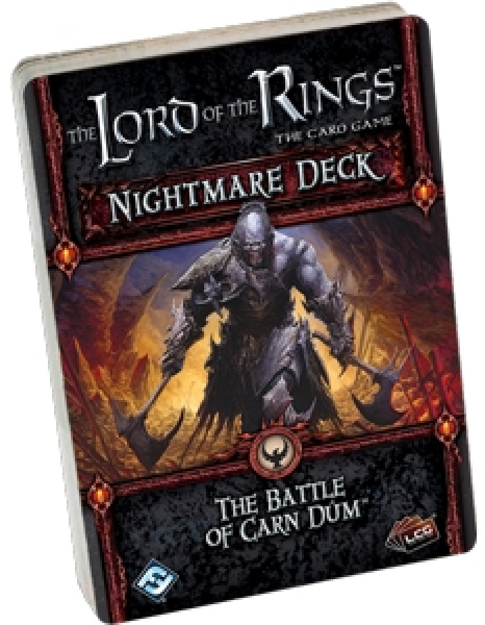 Lord of the Rings LCG: The Battle of Carn Dum Nightmare Deck