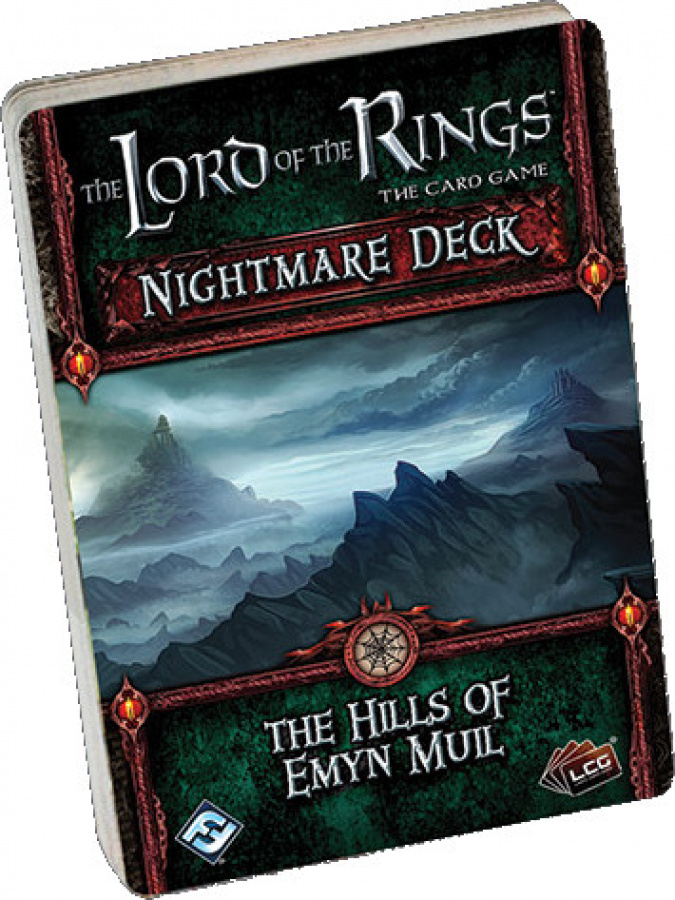 Lord of the Rings LCG: The Hills of Emyn Muil Nightmare Deck