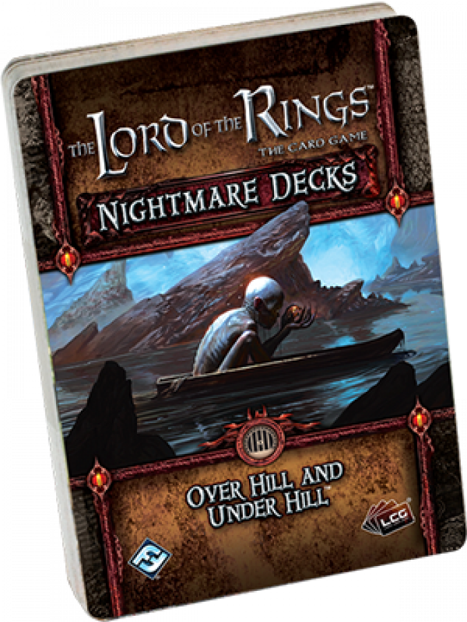 Lord of the Rings LCG: Over Hill and Under Hill Nightmare Deck